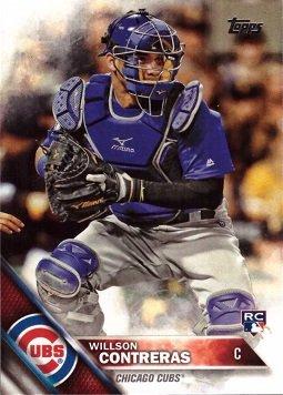 5f84685502b Get Quotations · 2016 Topps Update Baseball  US266 Willson Contreras Rookie  Card