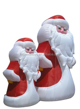 Small Inflatable Christmas Items, Outdoor Inflatable Christmas Penguin And and Santa