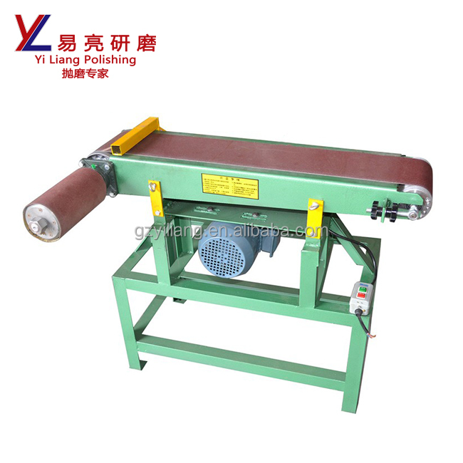 1524MM*180MM abrasive flat belt sanding machine with drum for grinding / polishing metal and wooden product surface to be mirror