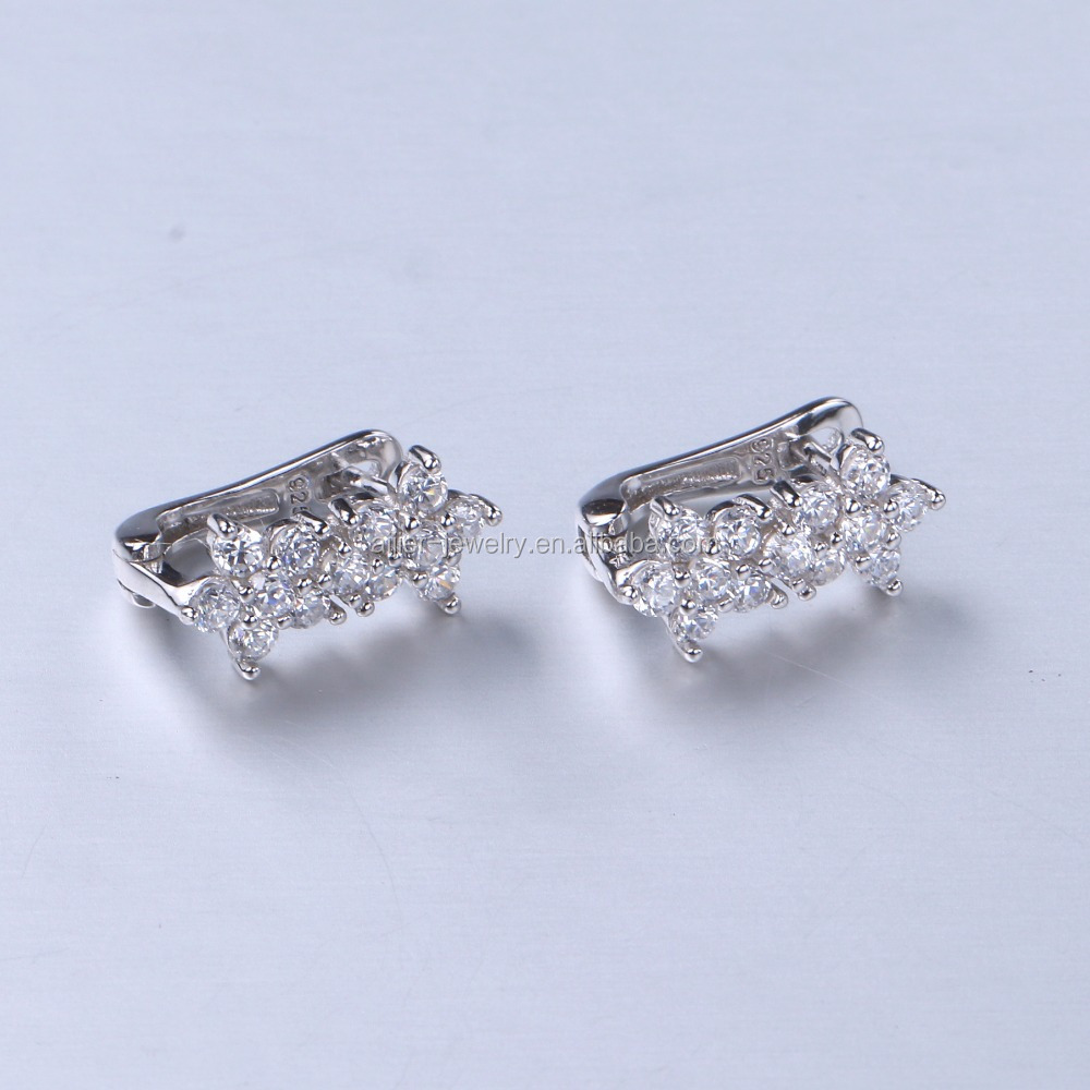 Newest Arrival Fashion Jewelry Earring made with zircon earrings E62
