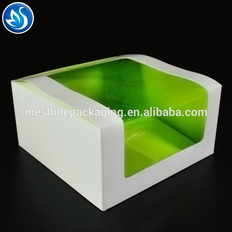 Pvc Window Box Packaging Design For Cake