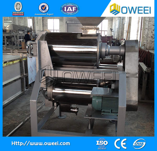 2015 hot sale quality fruit pulp making machinery
