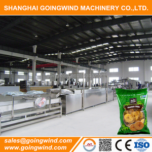 Automatic plantain chips making machine Plantain chip maker machines good price for sale