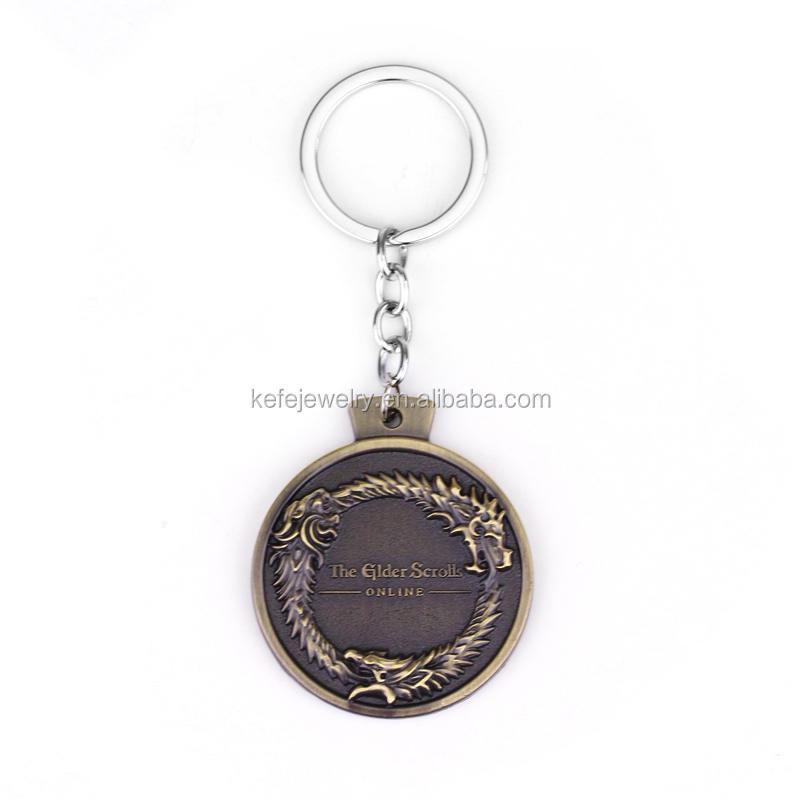 The Elder Scrolls Online Ouroboros Pendant Necklace