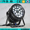 High quality stage light 18x10 RGBW 4in1 led zoom waterproof led par can
