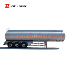 High quality Fly ash Transport Oil Tank Semi Trailer