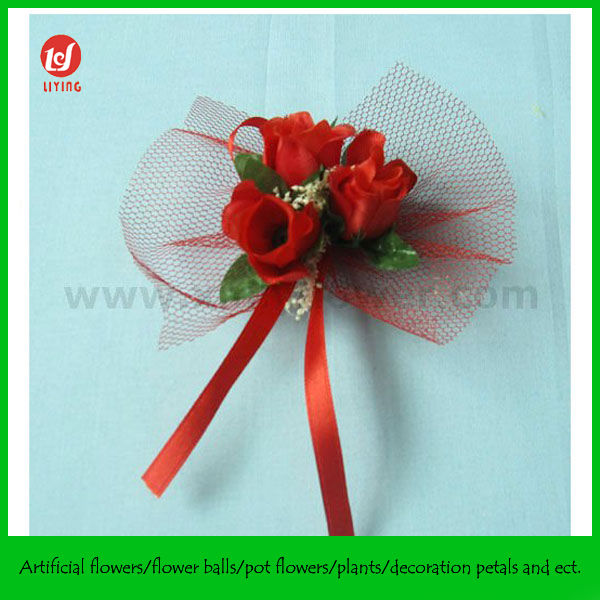 Handmade Gift Wrapping Flowers for Gift Box Decoration