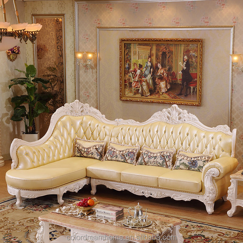 2017 Best Selling European Style Furniture Classic Furniture L Shape Sofa  Set - Buy L Shape Sofa Set,Royal Furniture Sofa Set,Sofa Set French Style  ...