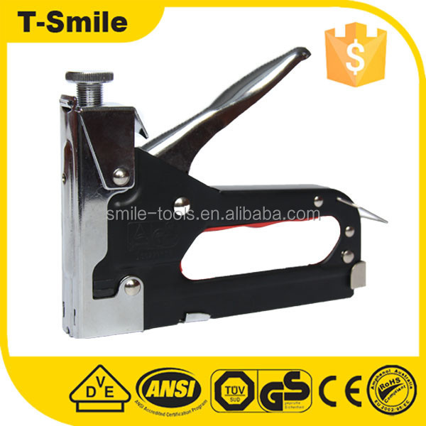 Customized black color industrial office staple guns for carton box
