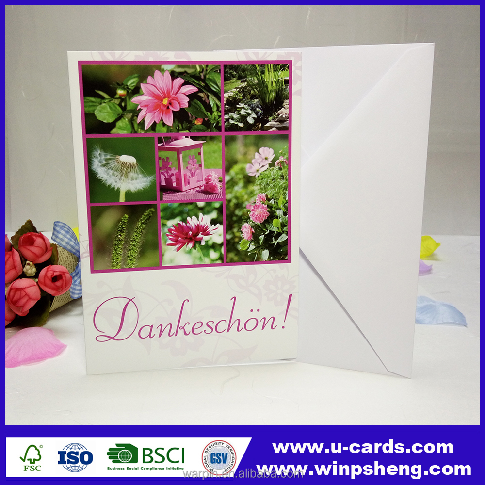 New production eco-friendly new products craft paper wedding invitations