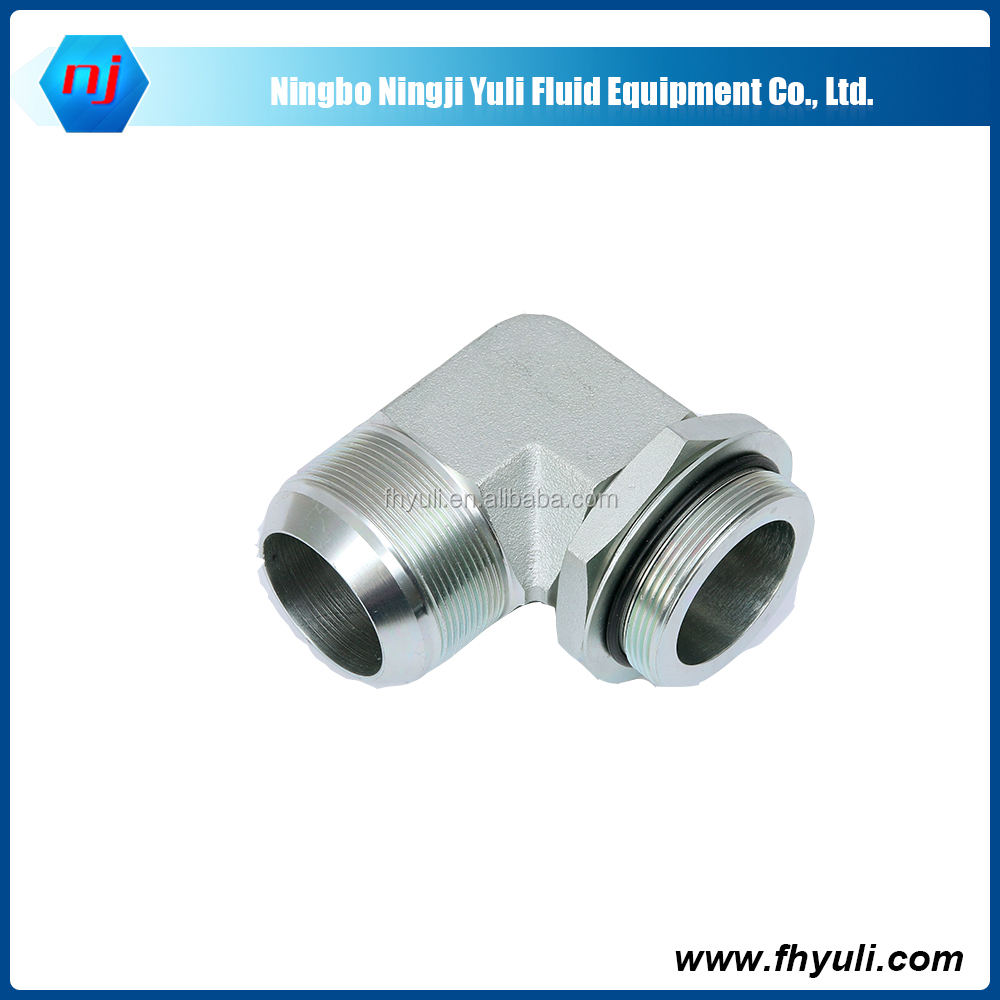 Ningji Free sample High pressure forged carbon steel hydraulic elbow pipe fitting carbon steel elbow