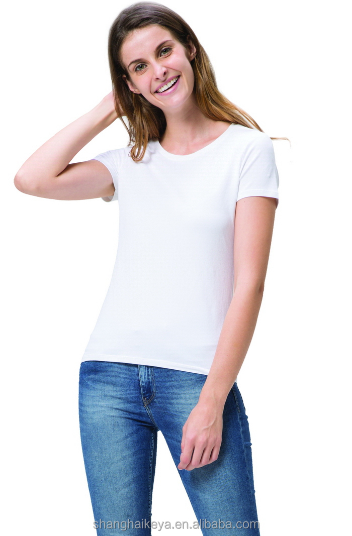 Low price manufacture active t shirt for women