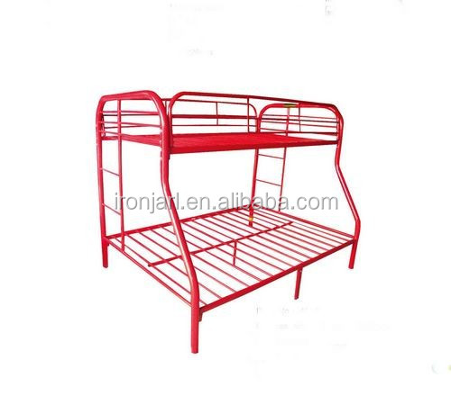 popular twin and full steel bunk bed ,metal bunk bed for home furniture