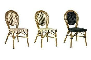 Outdoor Cane Bistro Chairs