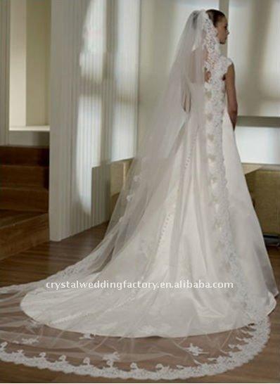 Lace Long Bridal Veil Wedding Cwfav1374 2017 Product On Alibaba