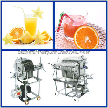 Plate And Frame Fruit Juice Filter /wine Filter/water Filter - Buy ...