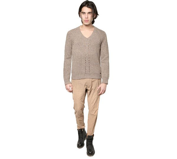 Chunky Sweater for Man Knit Jumper Pullover 2015