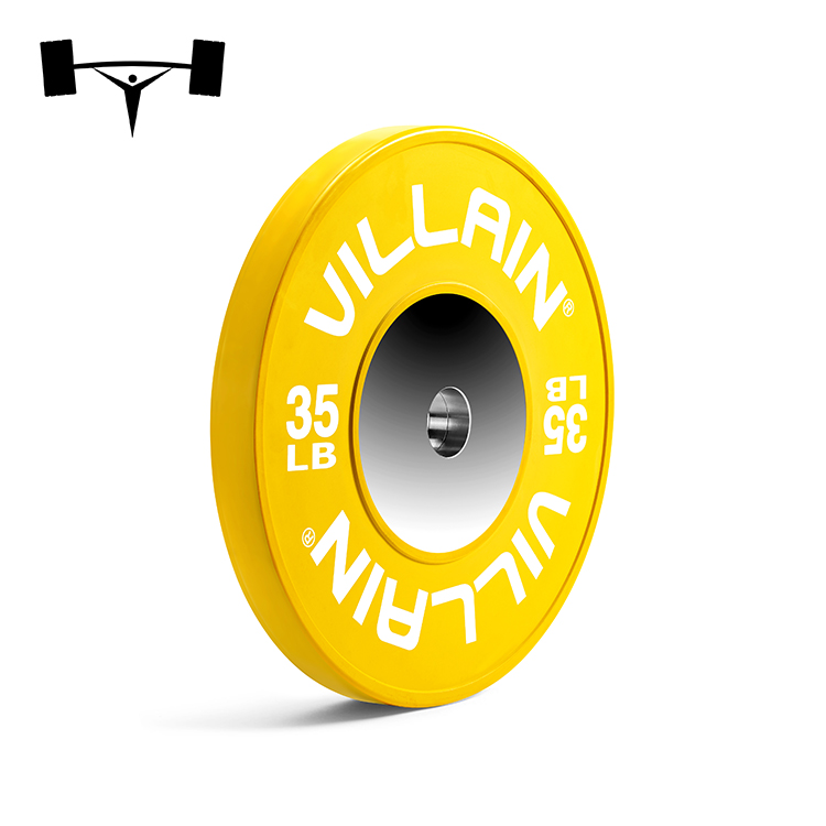 Competition Bumper Plates 320 LBS Barbell Set