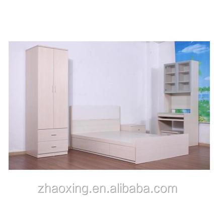 아파트 저렴한 나무 조각 멜라민 mdf 현대 침실 가구-침실 세트 ...