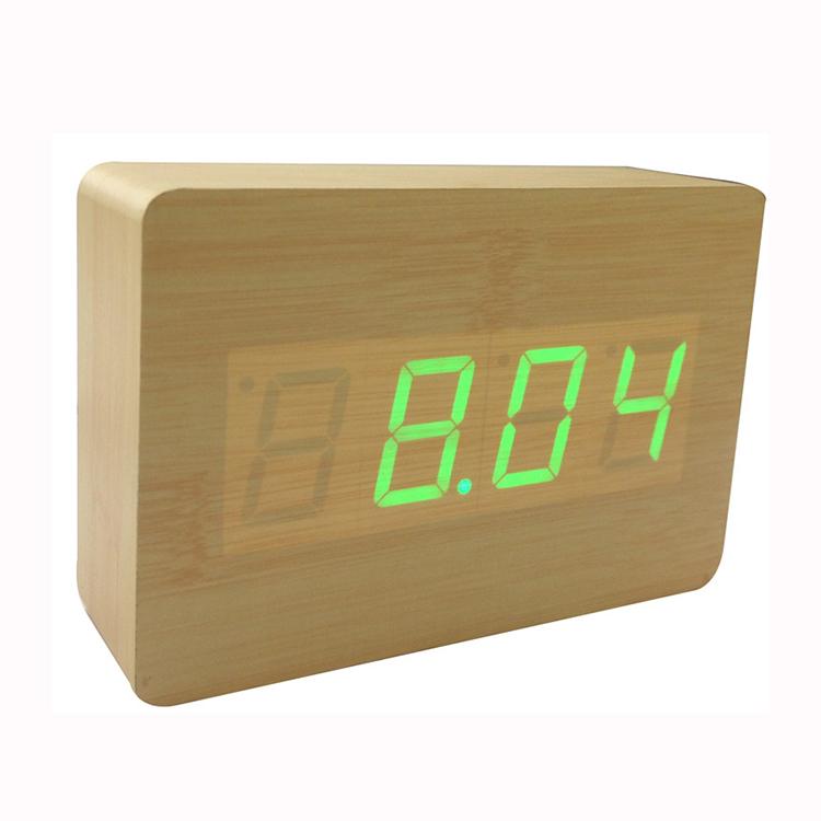 Zogift Best Er 2016 Wooden Led Alarm Clock