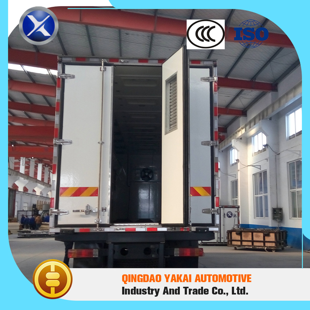 Heat insulation standard transport day old chick refrigerated truck parts prices