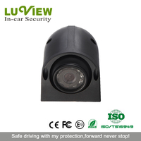 CCD car camera system, waterproof car side view camera for backup