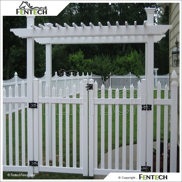 High Quality Garden Fence Plastic Fence, Fence Gate Design
