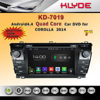 7 inch android car stereo dvd player with gps navigation dashboard camera mirror link review camera for corolla2014