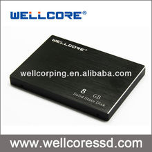 "Wellcore 2.5"" SATA III SSD hard drive 8GB sata3 SSDs Original NAND flash"