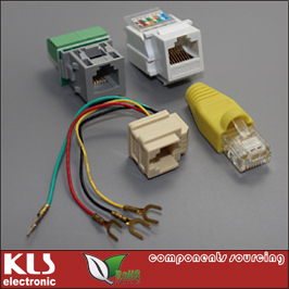 Good quality laptop and RJ45 connector UL CE ROHS 044 KLS Brand