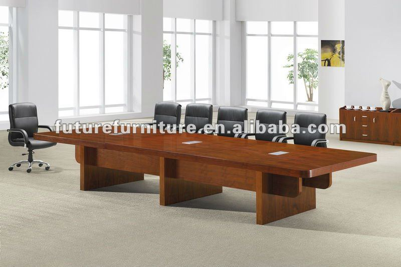 Classique table de r union pour 16 34 personnes table en for Table 16 personnes