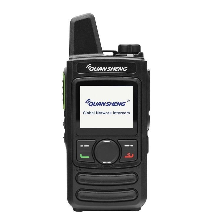 GSM WCDMA 3g 4g walkie talkie com dual sim cartão de rede wi-fi android walkie talkie telefone gsm Dois way radio zello walkie talkie