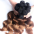 Qingdao Factory Supply Cheap Ombre Brown Women Hair Long Curly 6inch Brazilian Human Hair Extension
