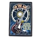 On the Air Home of the Blues 3d embossed retro beer poster wall decor bar pub car metal tin signs home metal sign