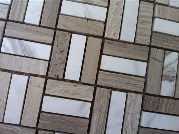 Office Floor Tiles Design Marble Mosaic
