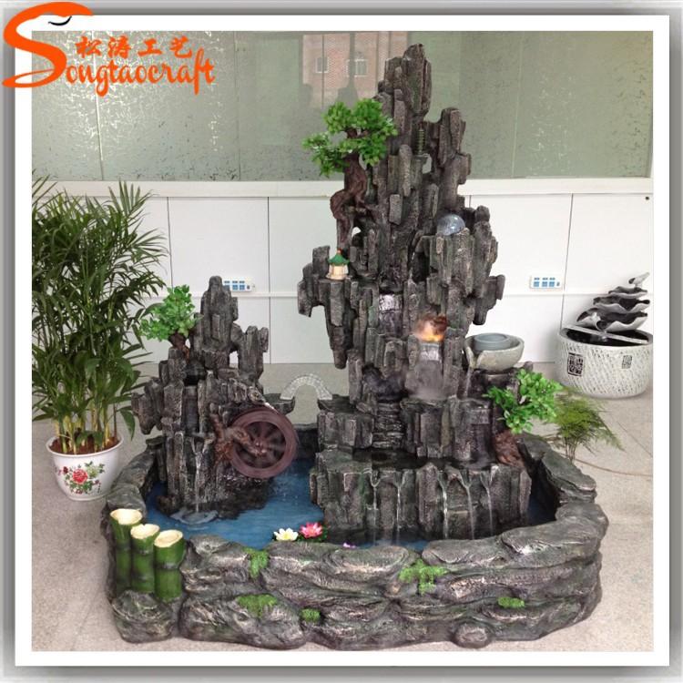 chinesische fabrik kleinen mini dekorativen brunnen indoor f r verkauf wasserfall gef lschte. Black Bedroom Furniture Sets. Home Design Ideas