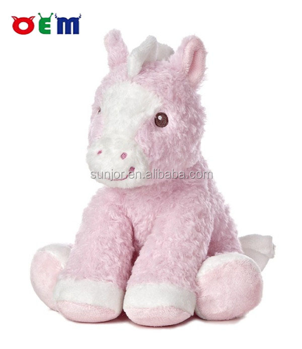 2017 factory direct stuffed pony,custom plush toy