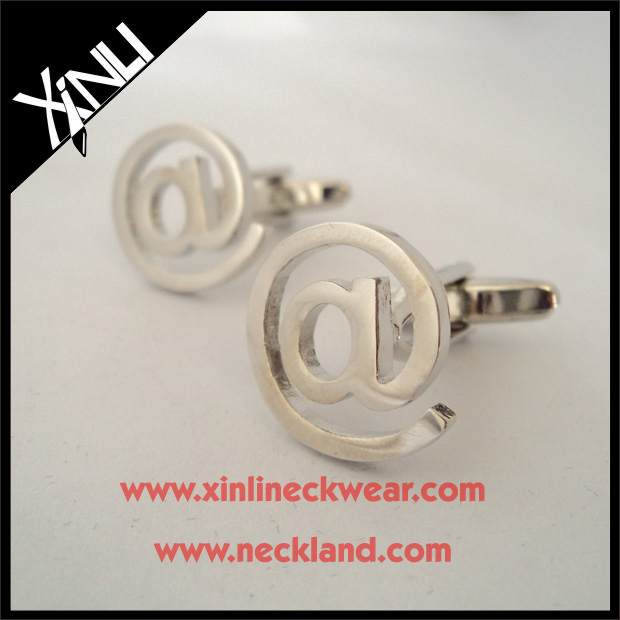 Custom Cufflinks for Men with <strong>Internet</strong> @ Logo Cuff Links