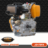 Efficient aire cleaner system mini diesel engine for sale