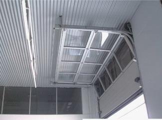 Aluminium pleine vue de verre porte de garage porte for Fabricant porte de garage basculante