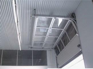 Aluminum Full View Glass Garage Door Overhead Door