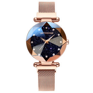 2019 Luxury Brand lady Crystal Watch Women Dress Watch Fashion Quartz Watches Female Noctilucent Stainless Steel Wristwatches