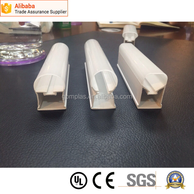Different shape lamp tube cover extrusion pc LED making machine