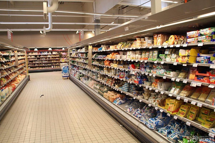 Supermarket Gondola Shelving,Steel Shelves Used To Market,Supermarket Rack Display
