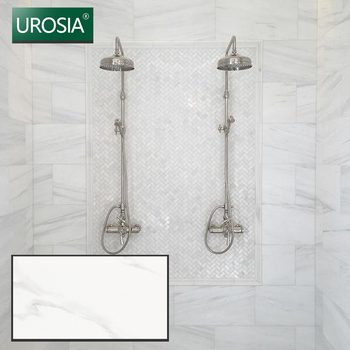 400 800 mm ceramic bathroom white gloss wall tiles shopping mall bathroom ivory white smooth wall tiles