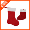 2015 unique wholesale red christmas santa stocking