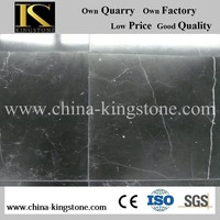 2015 factory price black and white marble tile for construct decoration