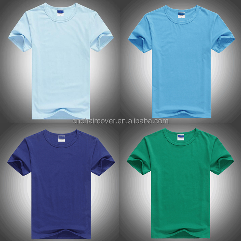 China Supplier Custom 100% Combed Cotton Men Tee Shirts