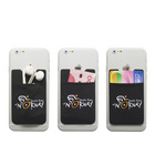 best selling self adhesive lycra cell phone pocket