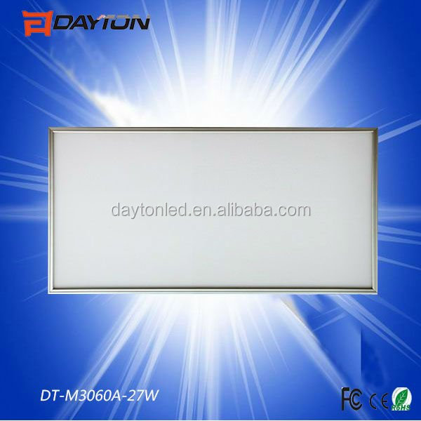 Lower price 30*120cm 36W led panel light from Shenzhen DAYTON lighting